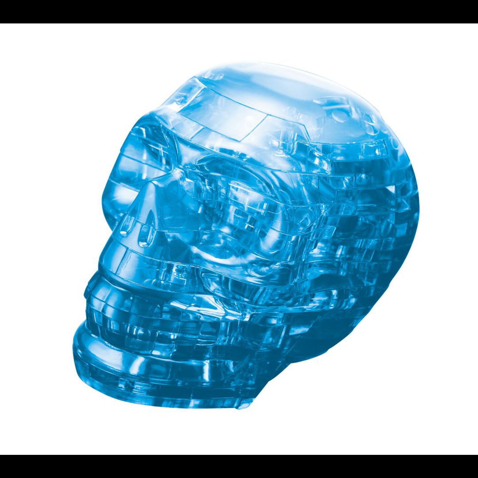 BePuzzled Crystal 3D Skull (blue)
