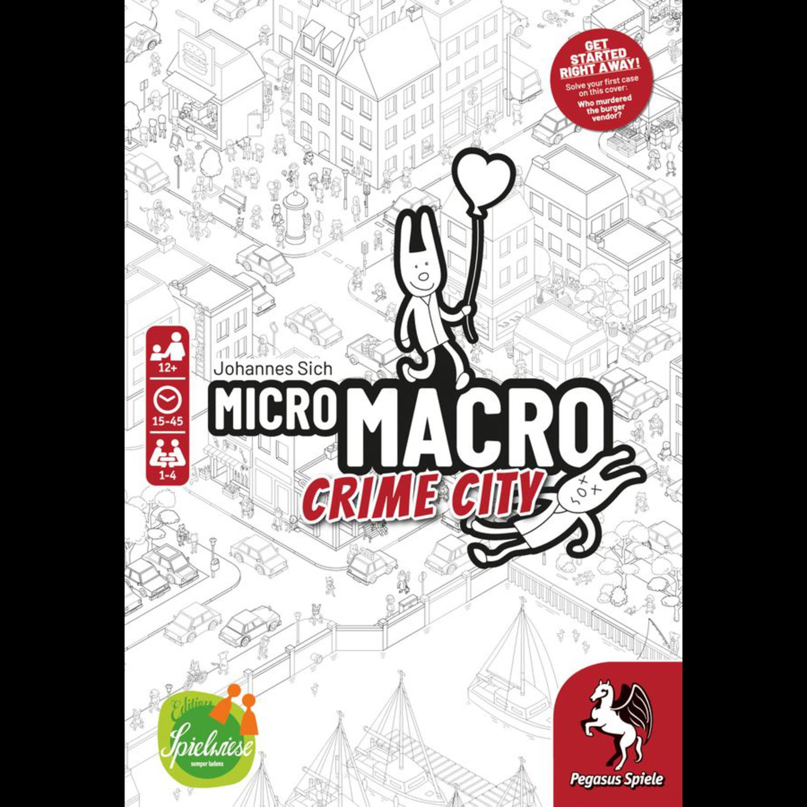 Pegasus Games MicroMacro: Crime City