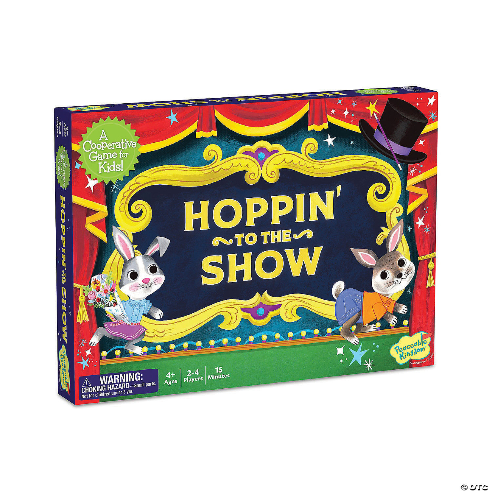 Peaceable Kingdom Hoppin' to the Show