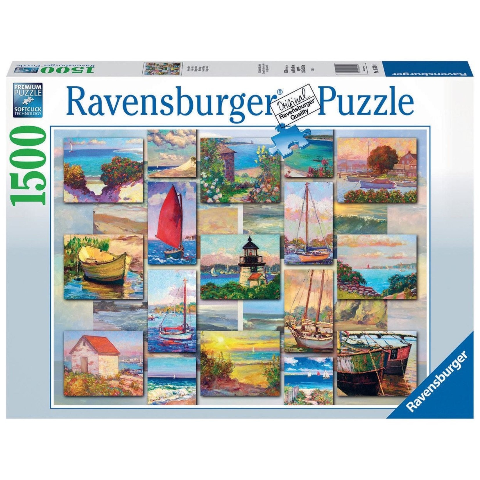Ravensburger Coastal Collage 1500pc