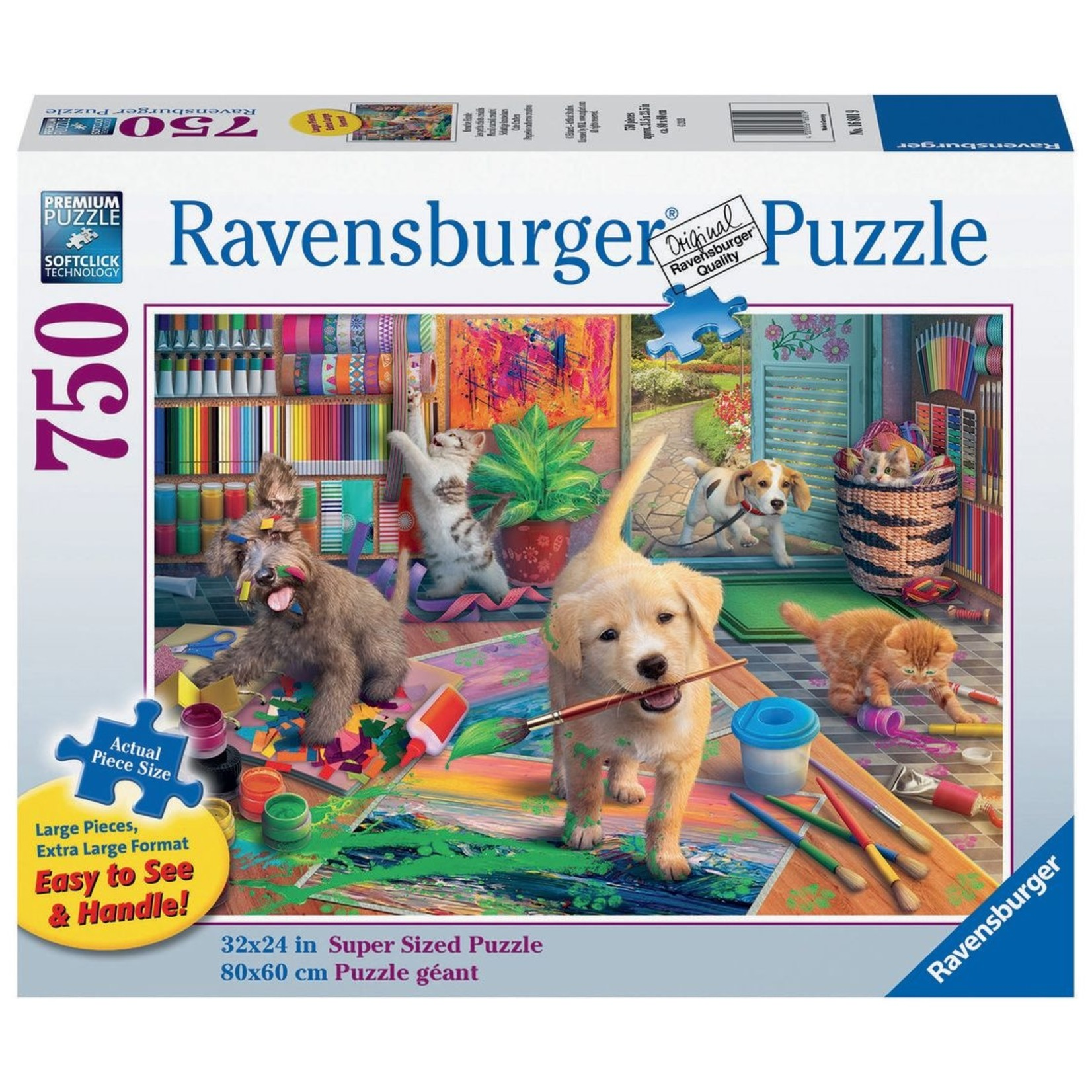 Ravensburger Cute Crafters LP 750pc