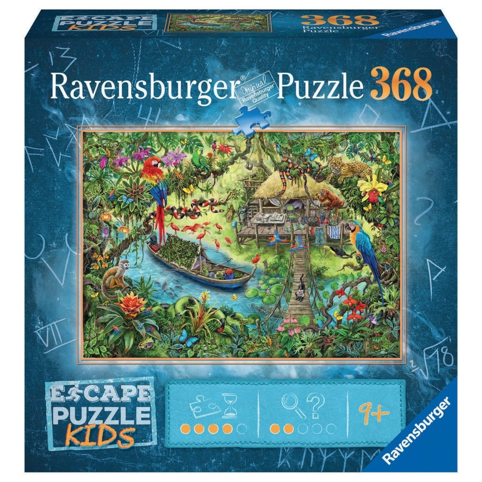 Ravensburger ESCAPE Jungle Journey 368pc