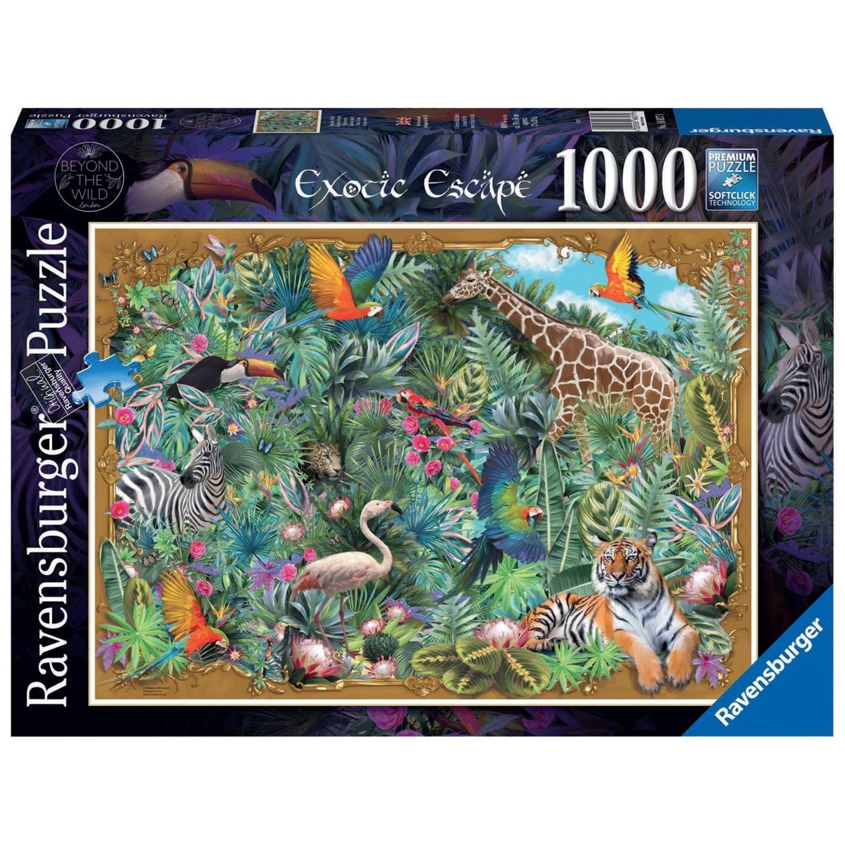 Ravensburger Exotic Escape 1000pc