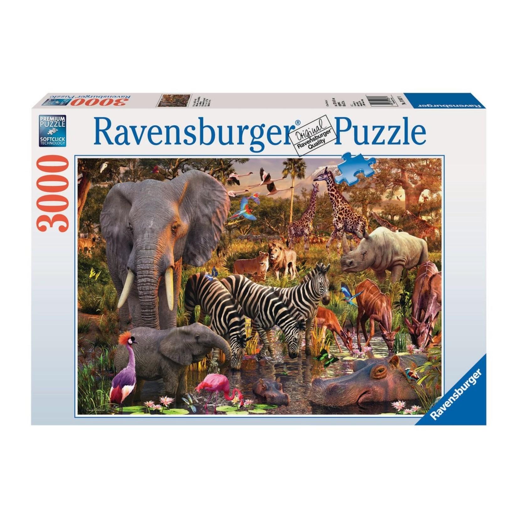 Ravensburger African Animal World 3000pc