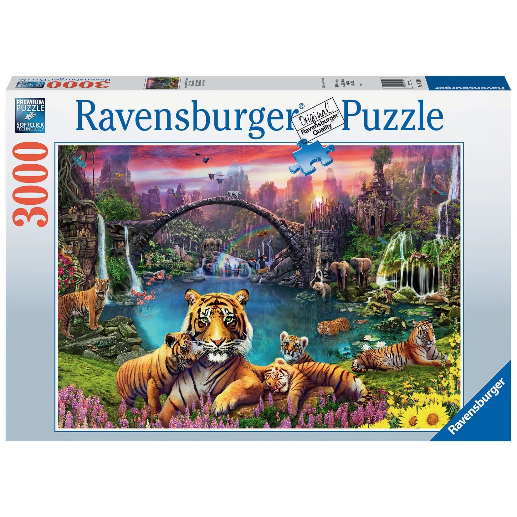 Ravensburger Tigers in Paradise 3000pc
