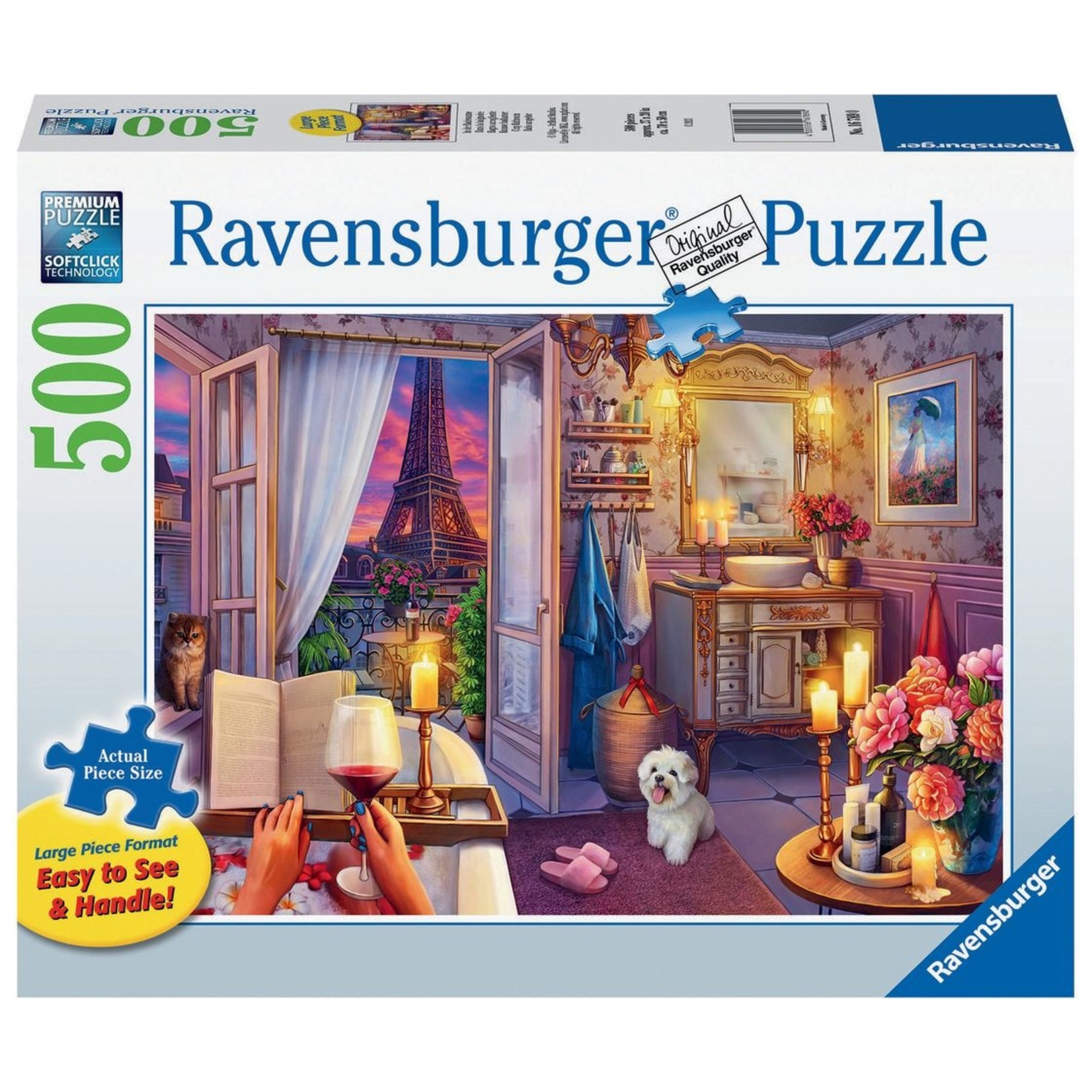Ravensburger Cozy Bathroom LP 500pc
