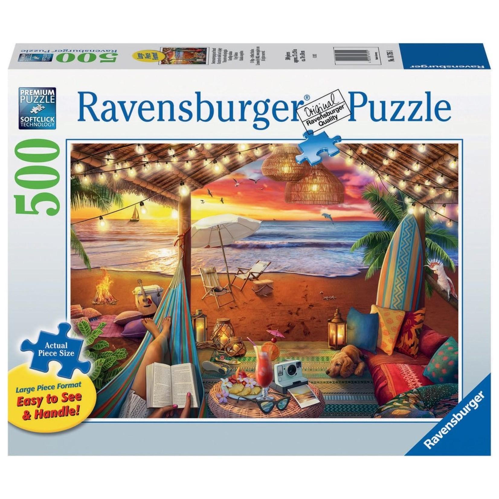 Ravensburger Cozy Cabana LP 500pc