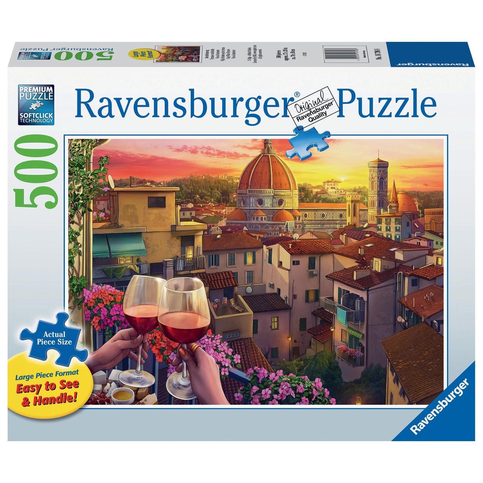 Ravensburger Cozy Wine Terrace LP 500pc