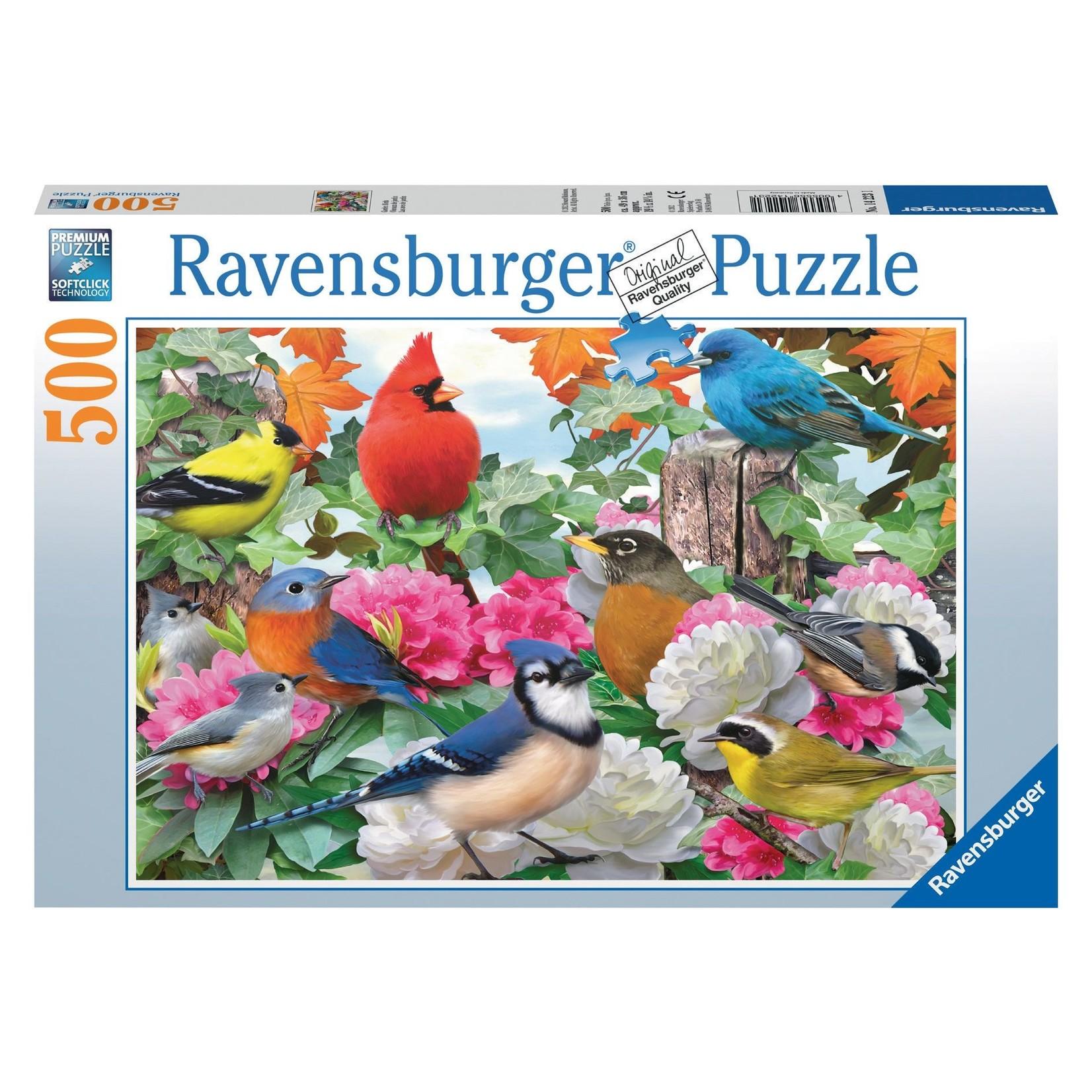 Ravensburger Garden Birds 500pc