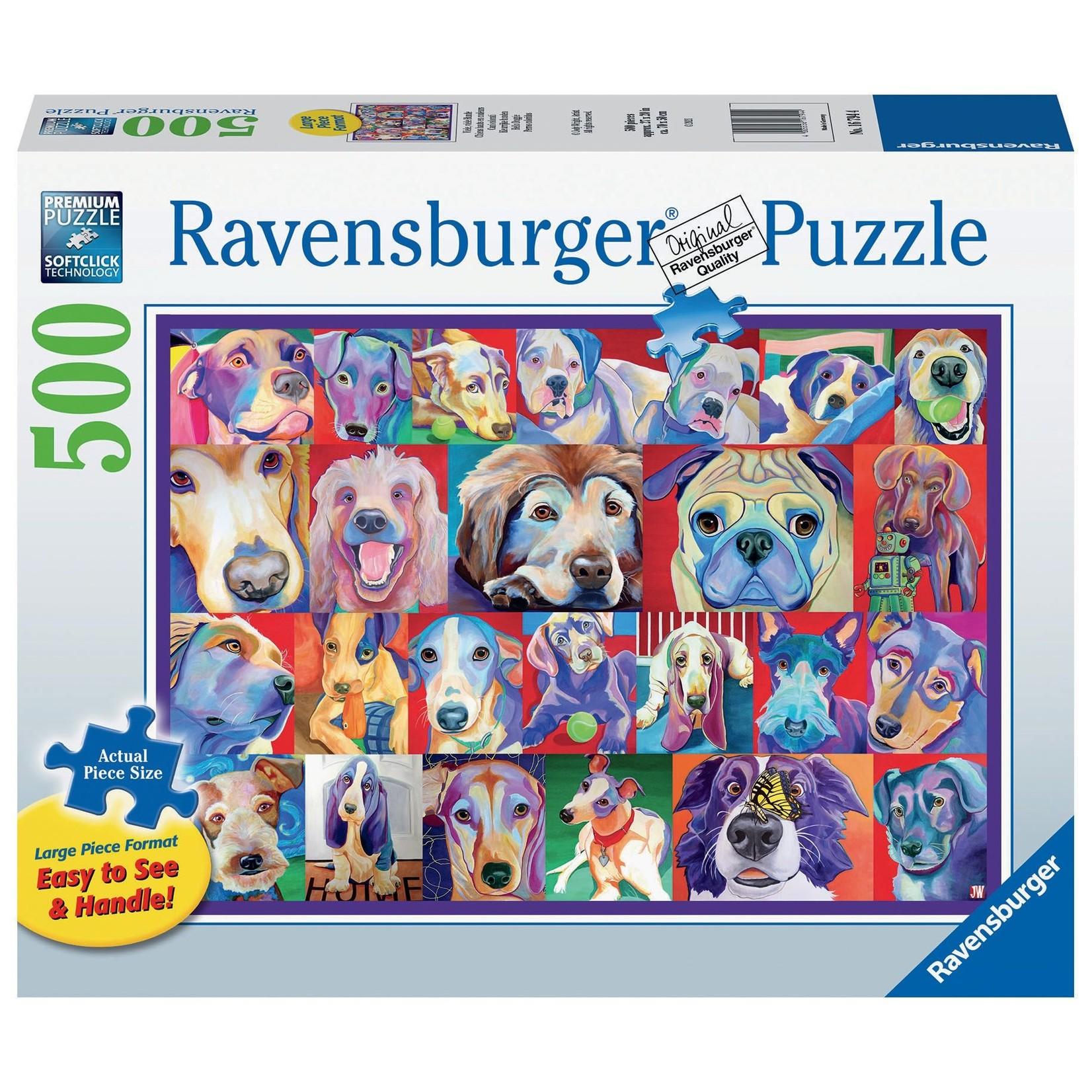 Ravensburger Hello Doggie LP 500pc