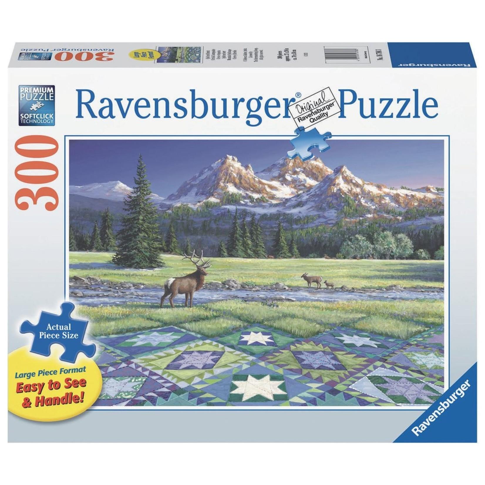 Ravensburger Mountain Quiltscape LP 300pc