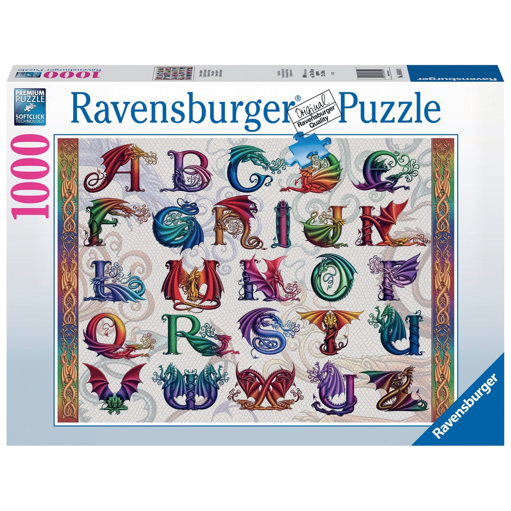 Ravensburger Dragon Alphabet 1000pc