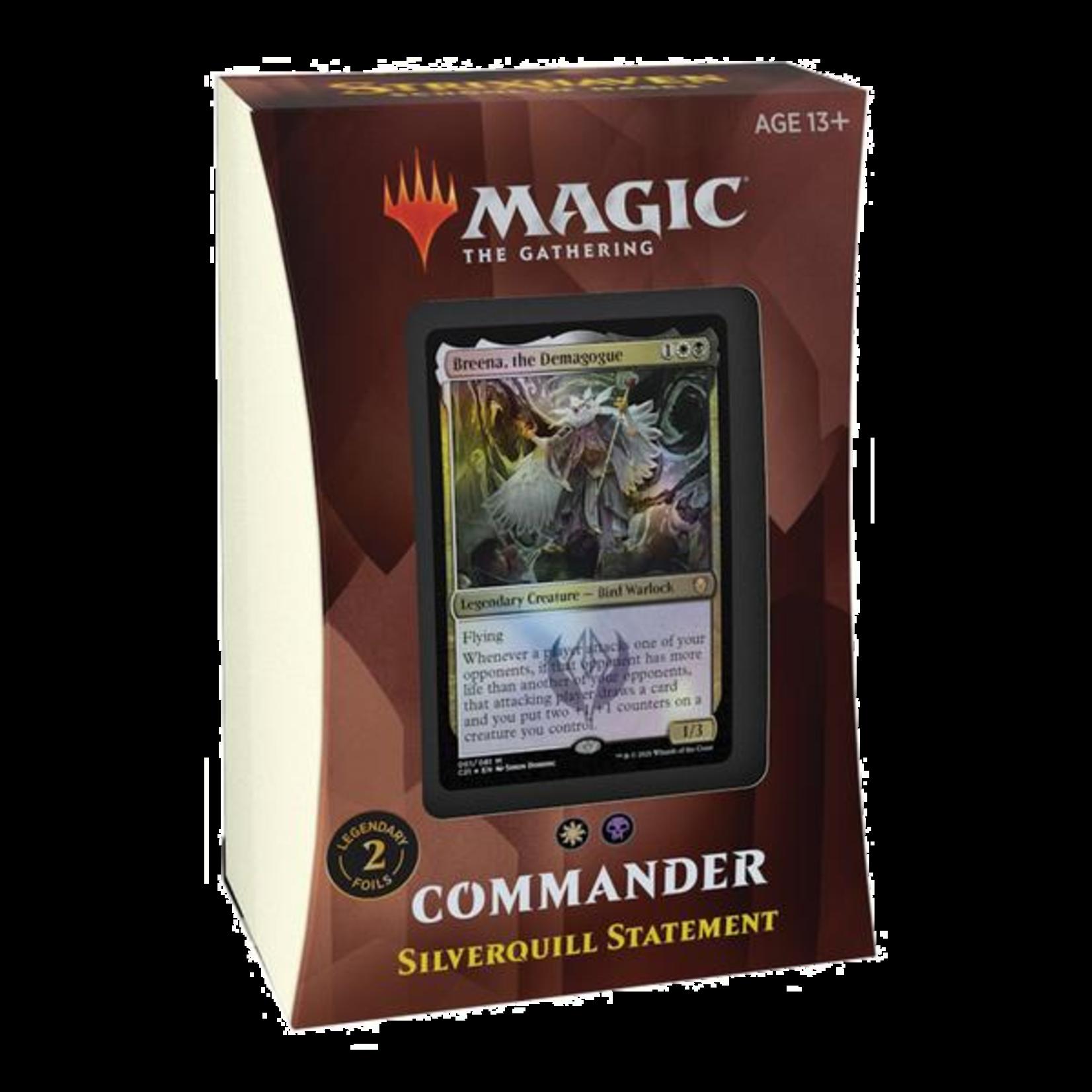 Wizards of the Coast MTG: Strixhaven Commander