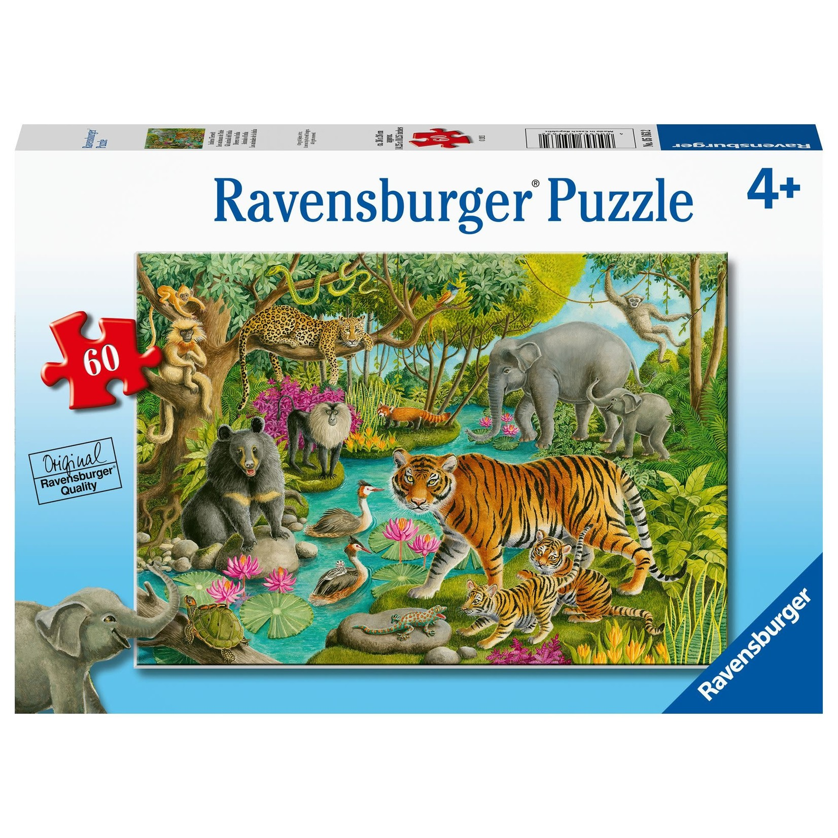 Ravensburger Animals of India 60pc