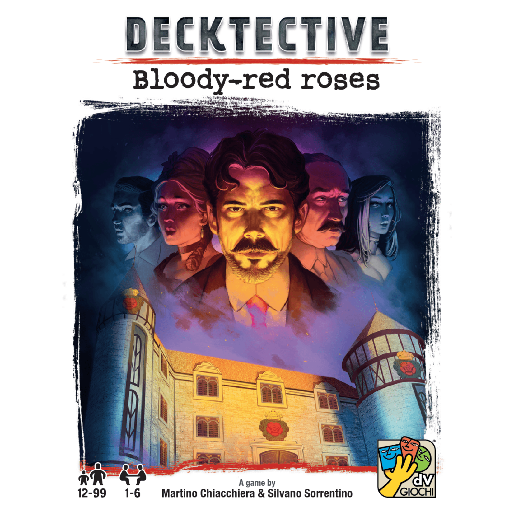 dV Giochi Decktective:  Bloody Red Roses
