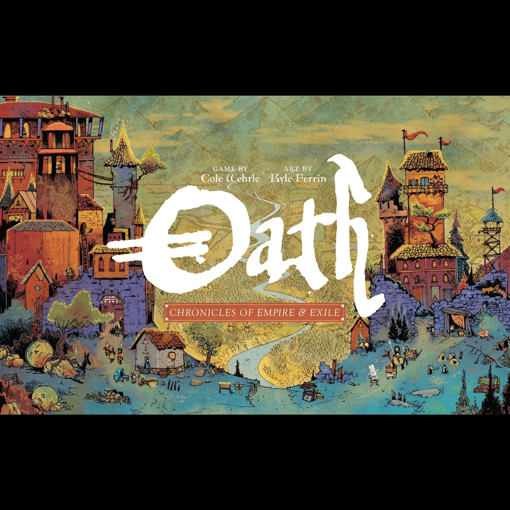 Leder Games Oath: Chronicles of Empire & Exile