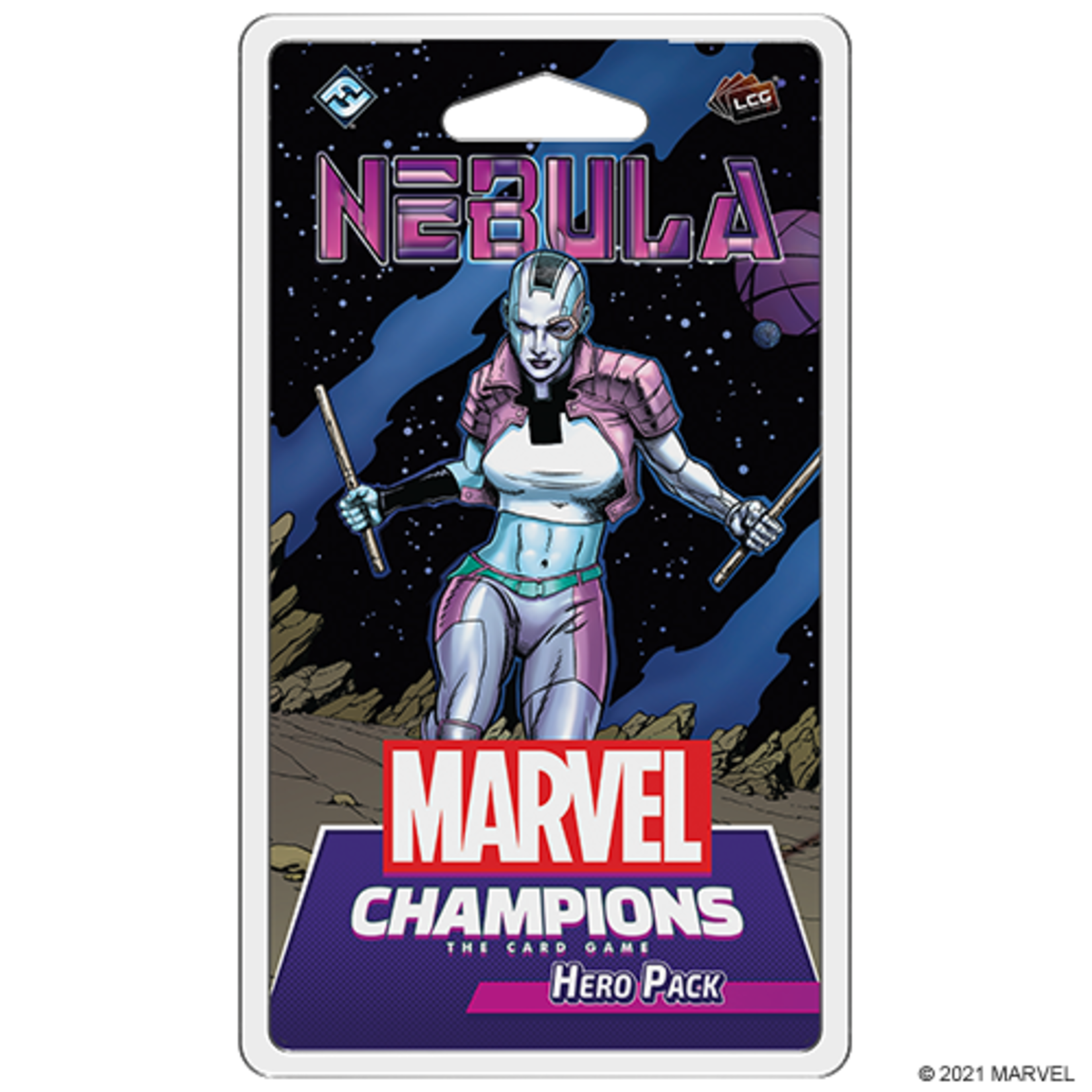 Fantasy Flight Games Marvel Champions LCG: Nebula Hero Pack