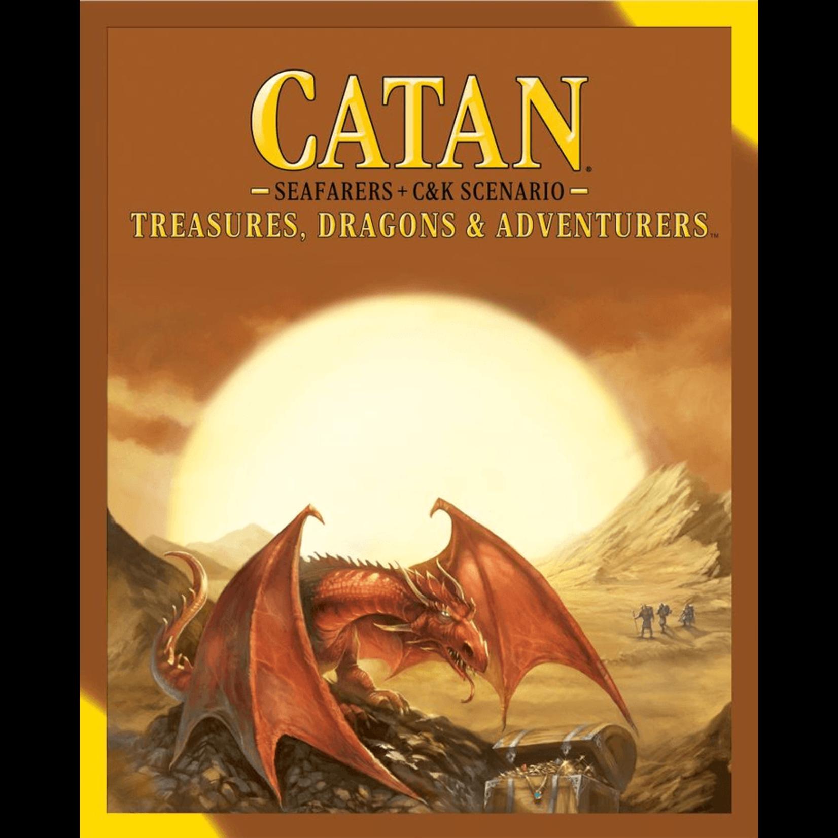 Asmodee Catan: Treasures, Dragons, & Adventures