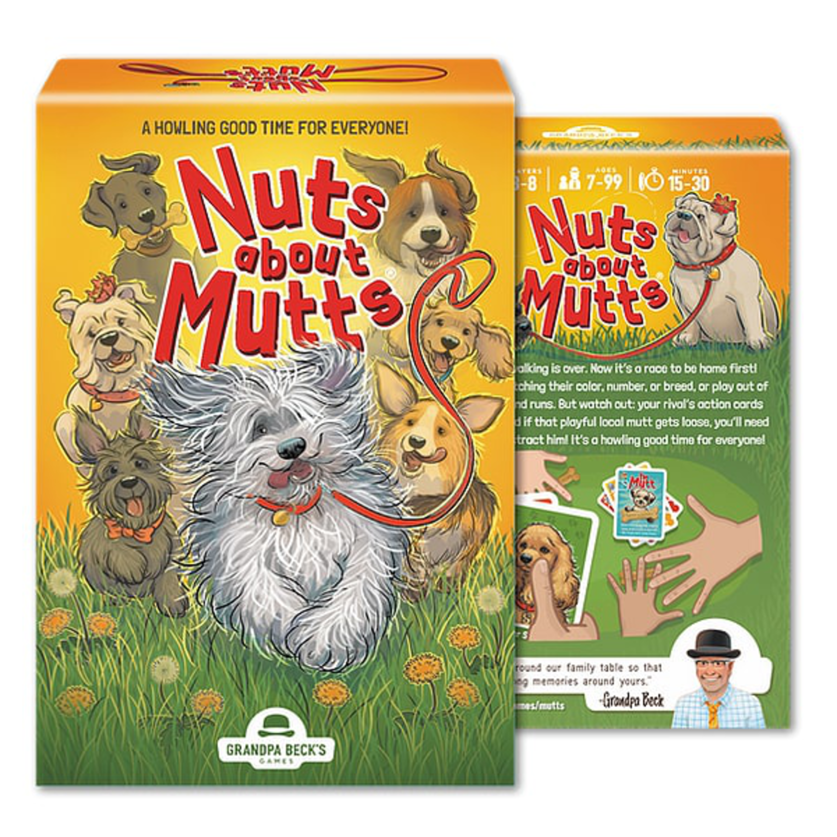 Grandpa Beck Nuts about Mutts