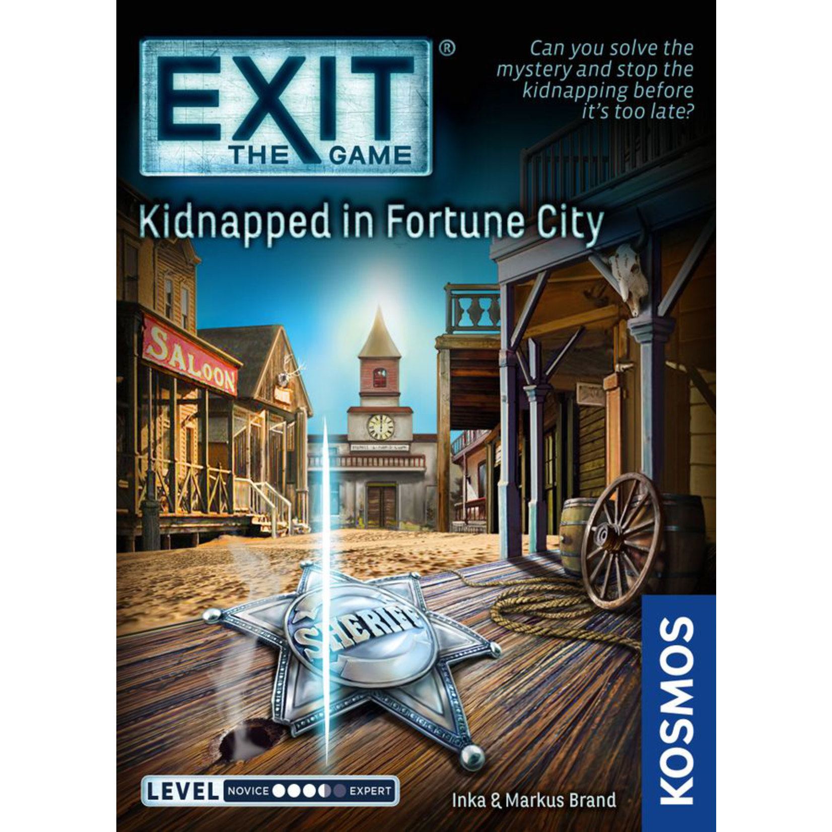 KOSMOS EXIT: Kidnapped in Fortune City