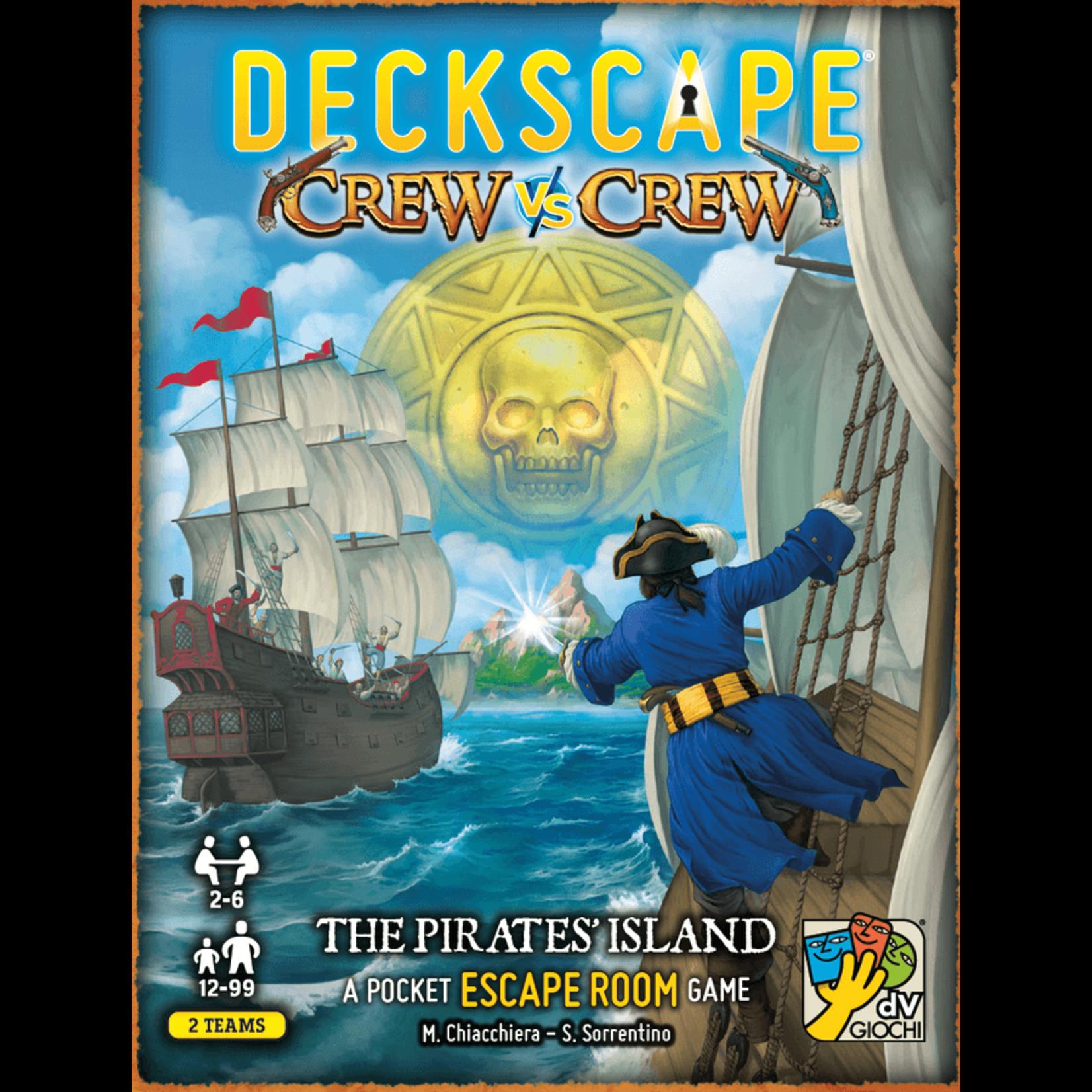 dV Giochi Deckscape: Crew vs Crew