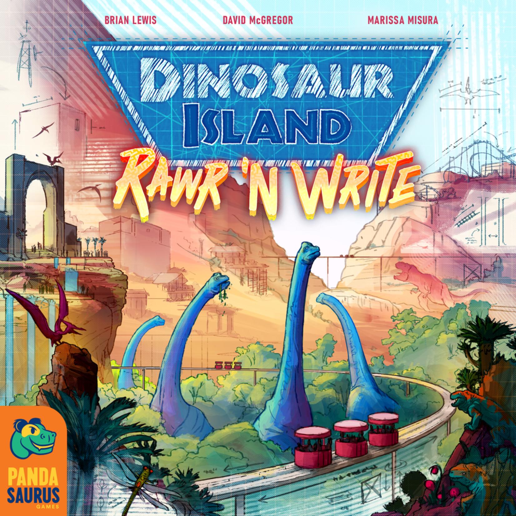 Pandasaurus Games Dinosaur Island: Rawr `n Write