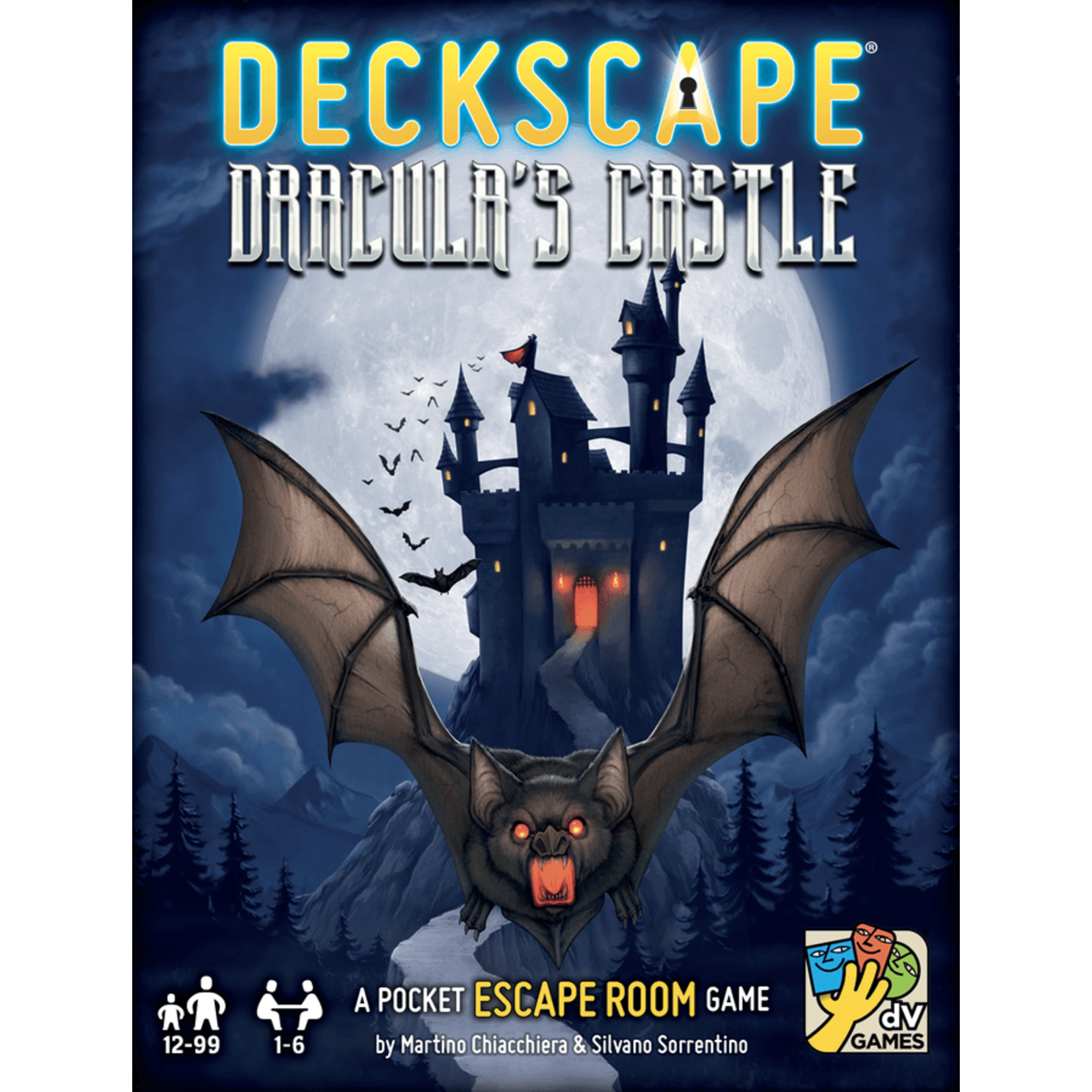 dV Giochi Deckscape: Dracula's Castle