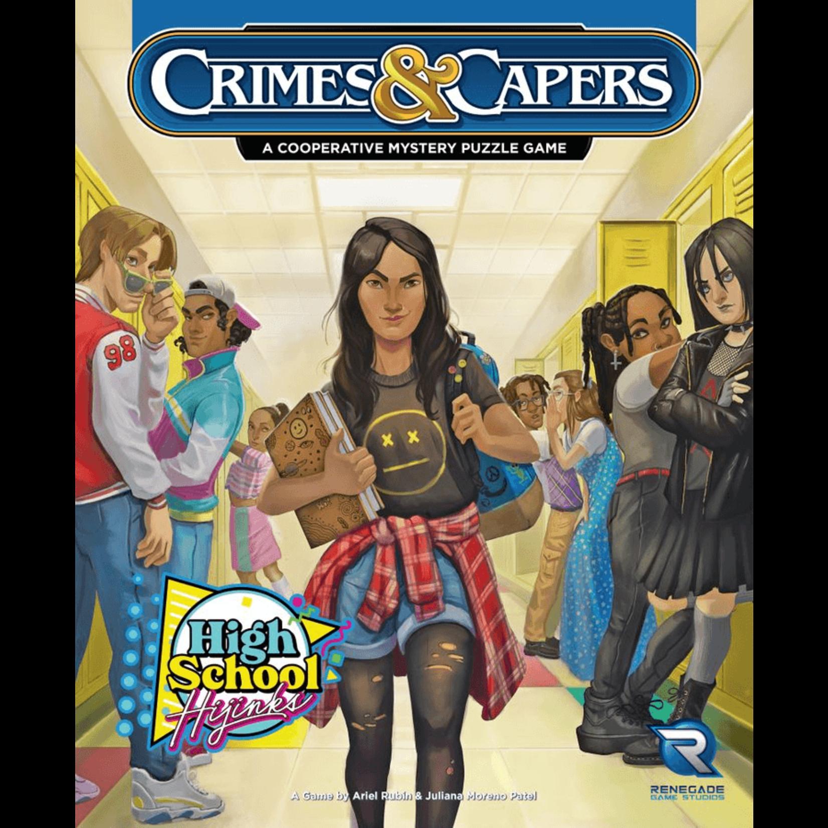Renegade Game Studios Crimes & Capers: High School Hijinks