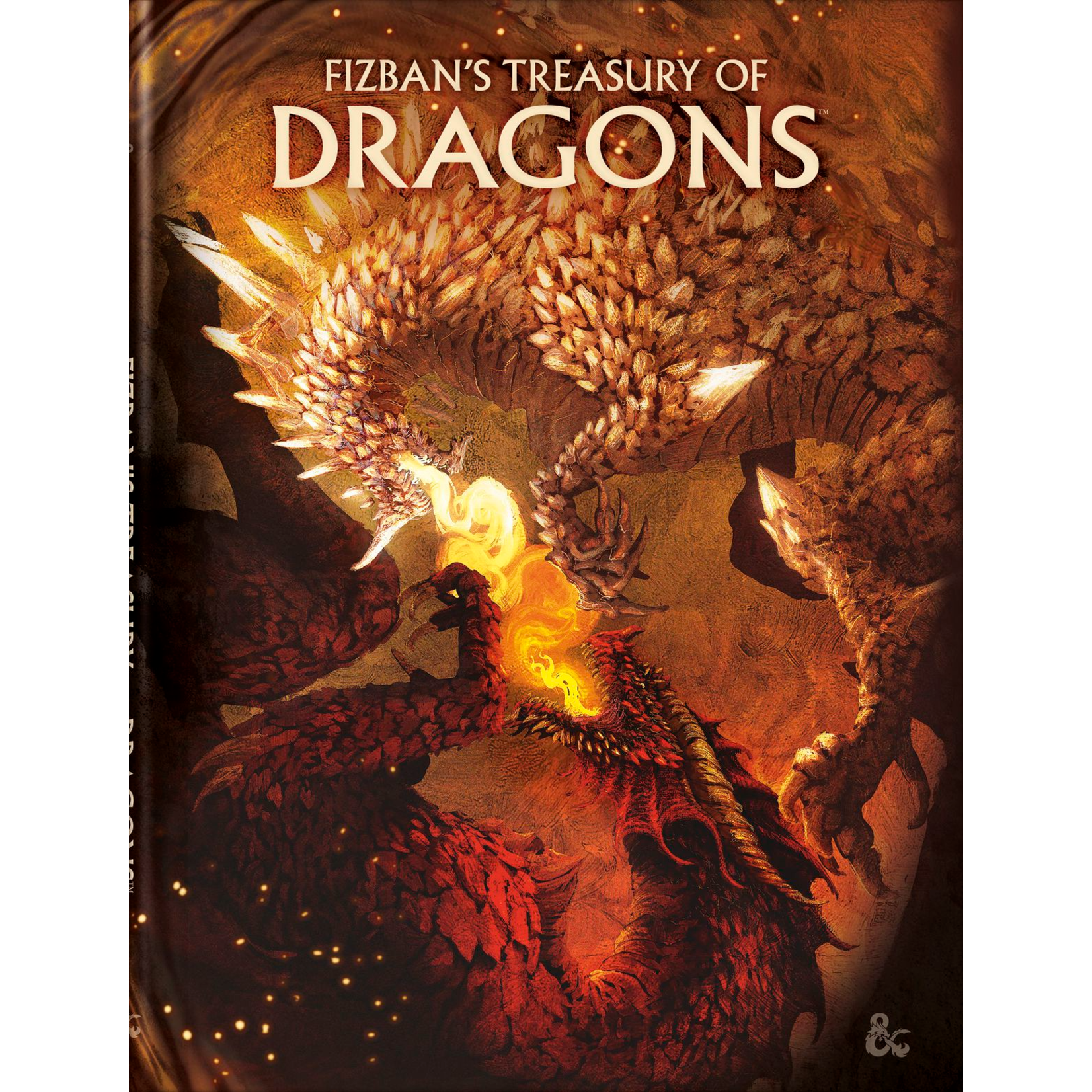 Wizards of the Coast D&D: Fizban's Treasury of Dragons Alt Cover