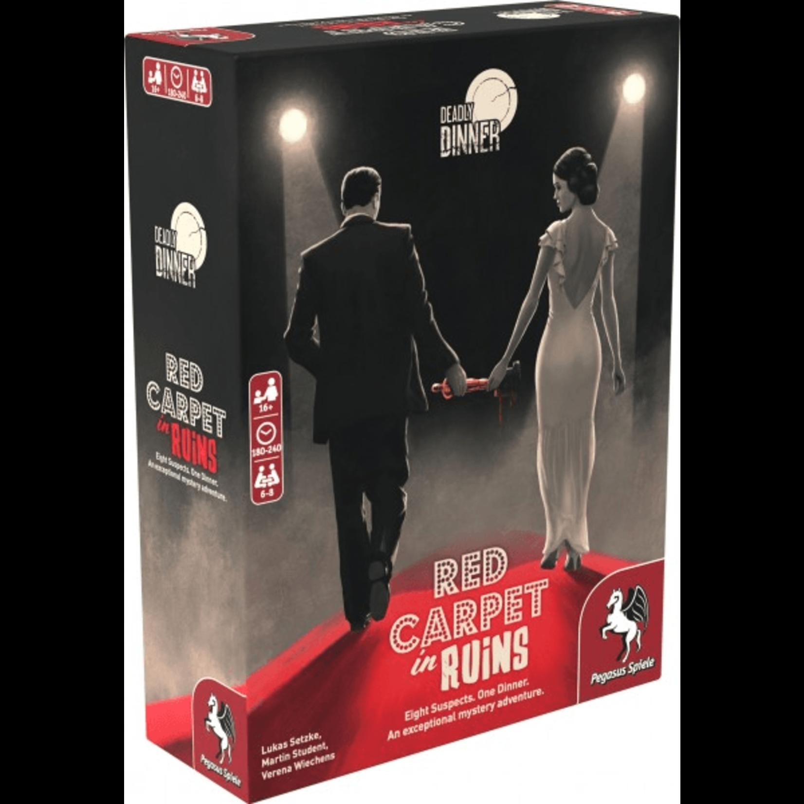 Pegasus Games Deadly Dinner: Red Carpet in Ruins