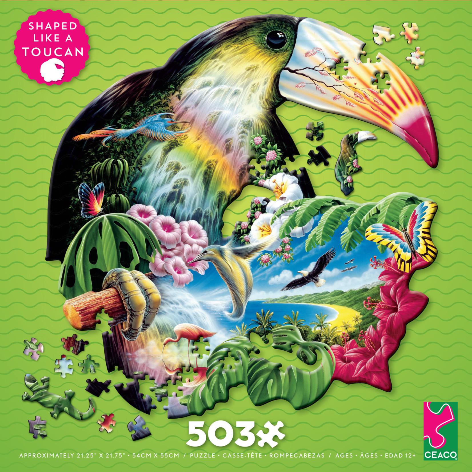 CEACO Puzzle Shapes Toucan 503pc