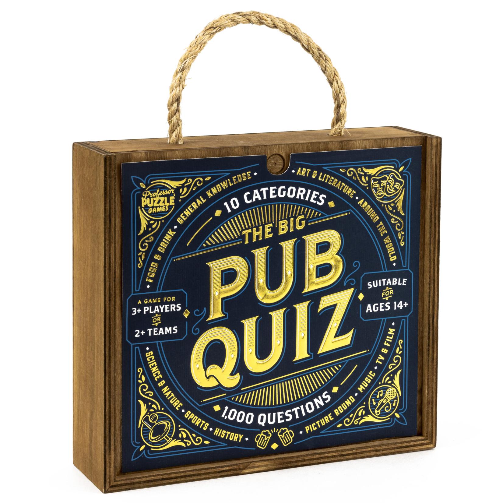 Professor Puzzle The Big Pub Quiz