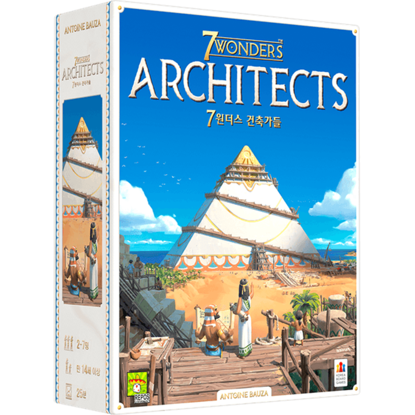 Asmodee 7 Wonders Architects