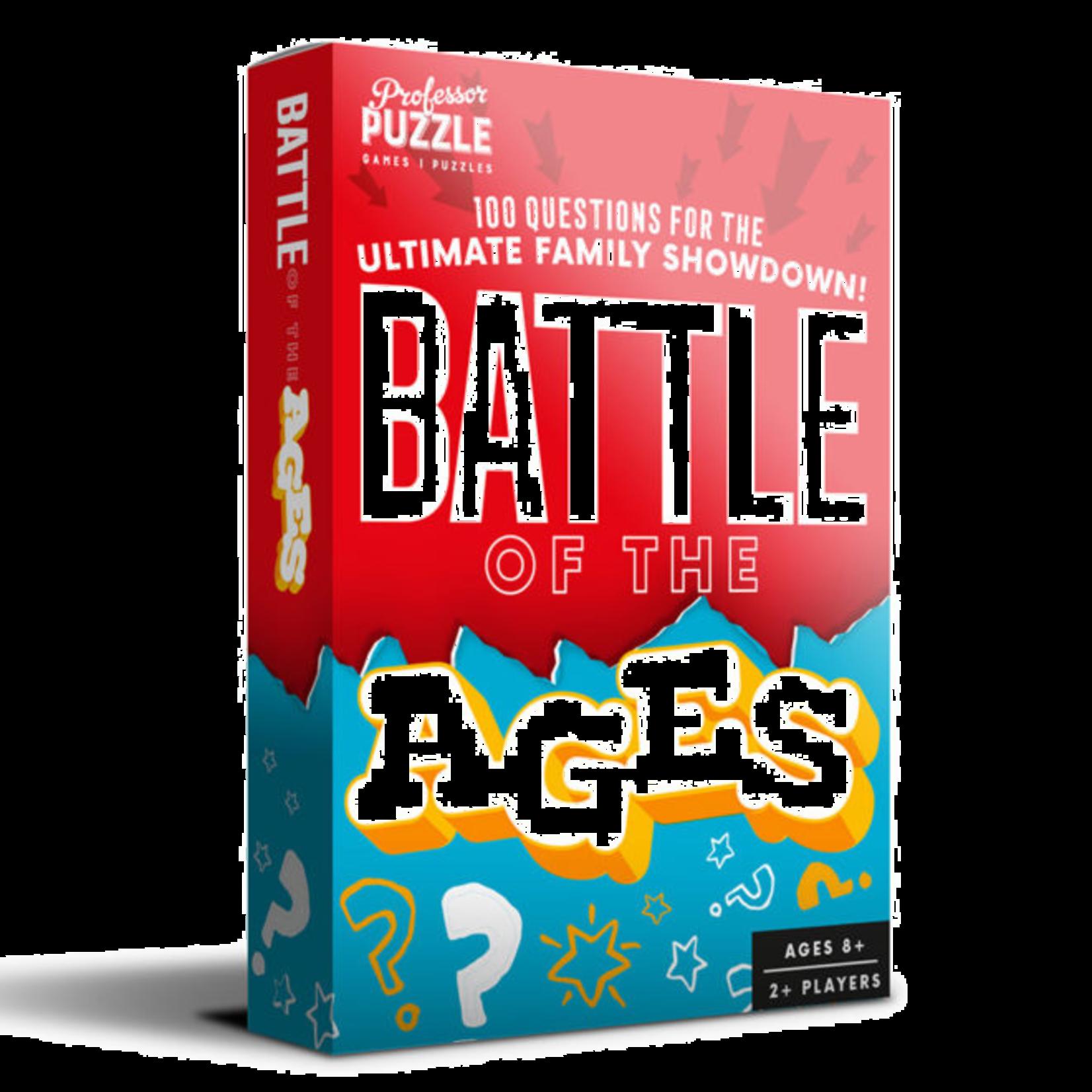 Professor Puzzle Pocket Battle of the Ages