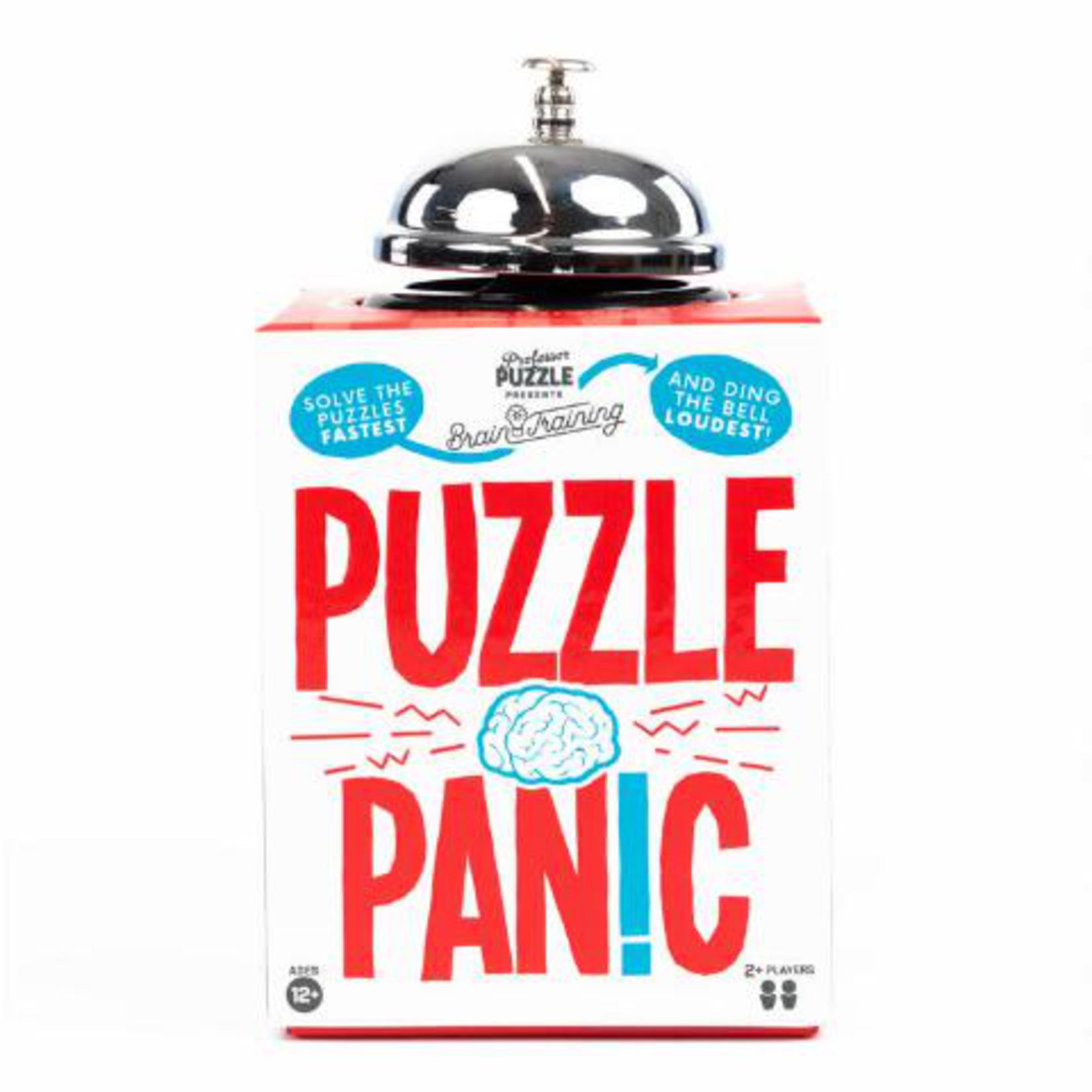 Professor Puzzle Puzzle Panic