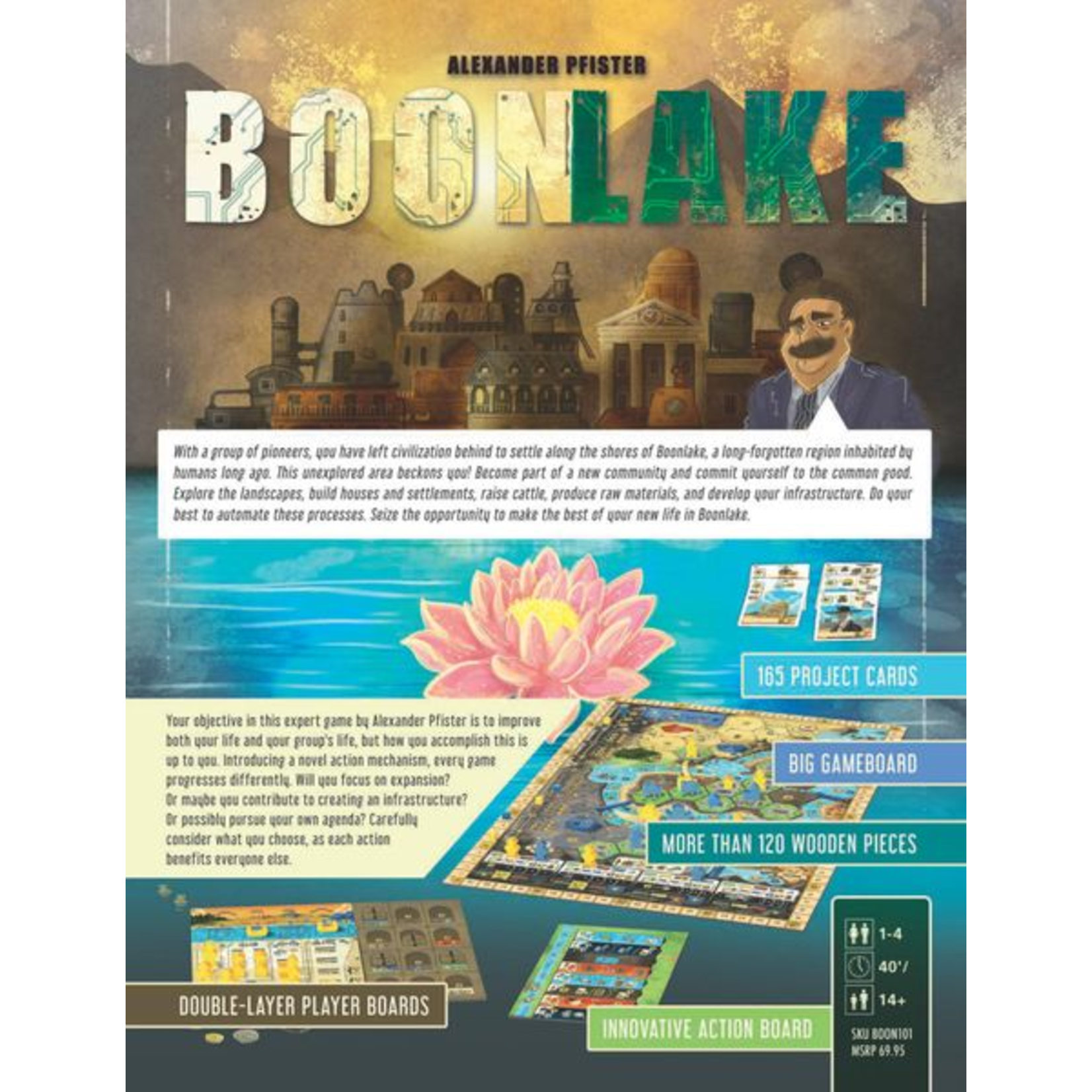 Capstone Games Boonlake