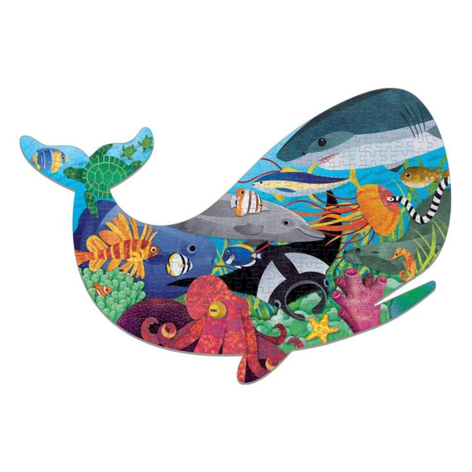 Mudpuppy Ocean Life Shaped 300pc