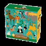 Mudpuppy Animals of the World Jumbo 25pc