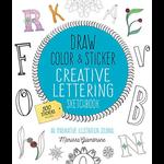 Hachette Book Group Draw Color Sticker Letters