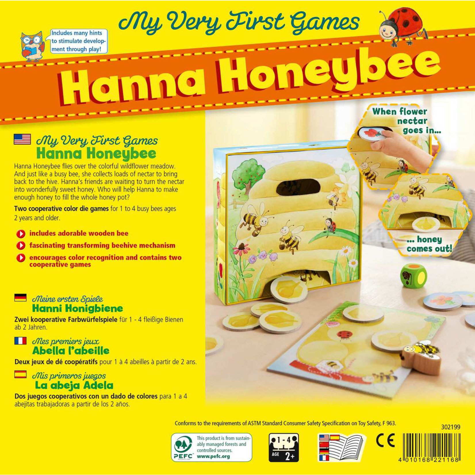Haba My First Hanna Honeybee