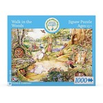 New York Puzzle Co Walk in the Woods BP 1000pc