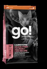 Go! GO! Carnivore CAT GF Salmon and Cod 8lb