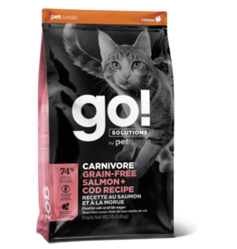 GO! GO! Carnivore CAT GF Salmon and Cod 3lb