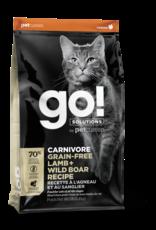 Go! GO! Carnivore CAT GF Lamb and Boar 3lb