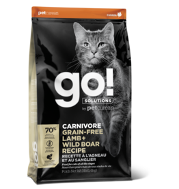 GO! GO! Carnivore CAT GF Lamb and Boar 3lb