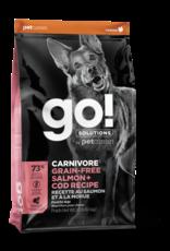 GO! GO! Carnivore DOG GF Salmon and Cod 3.5lb