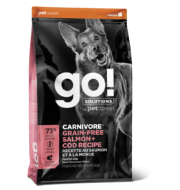 GO! GO! Carnivore DOG GF Salmon and Cod 12lb
