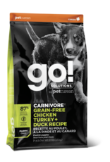 GO! GO! Carnivore DOG GF PUPPY Chicken, Turkey, Duck 3.5lb