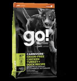 GO! GO! Carnivore DOG GF PUPPY Chicken, Turkey, Duck 3.5lb
