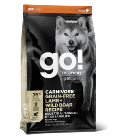 GO! GO! Carnivore DOG GF Lamb and Boar 3.5lb